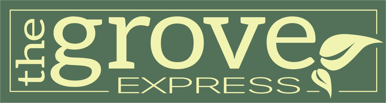 The Grove Express logo